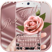 Theme Rose Gold for Keyboard 10002002