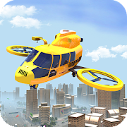 Real Flying Drone Taxi Simulator Driver 1.0