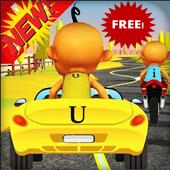 Upin racing Car Speed ipin Moto Bike Mission 2.9