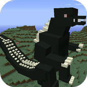 Mod Big Godzilla for MCPE 1.0