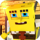 Mod SpongeBob  for MCPE 1.0