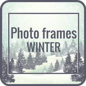 Photo frames winter