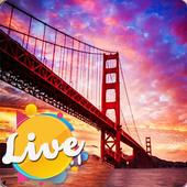 Golden Gates Bridge Full HD Live Wallpaper 1.0