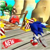 Blue Hedgehog Dash : Jungle Rush Adventure 1.1