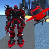 X Ray Flying Car Robot 3D 1.3