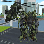 X Robot HelicopterOmsk GamesAction