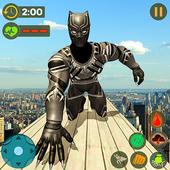Panther Superhero Rescue Mission Crime City Battle 1.0.1