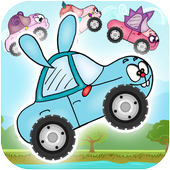 racing monster kikoriki cars climb hill survival 3.3