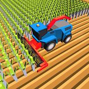 Blocky Plow Farming Harvester 1.7