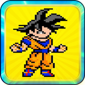 Super goku Saiyan ball 1.0
