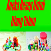 Aneka Resep Kue Ultah 1.0
