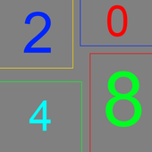 2048 (Õzbek) qiziqarli õyin. 1.1a