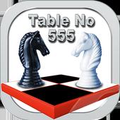 Table no 555 - 3D Chess FreeMushroom WorldBoard