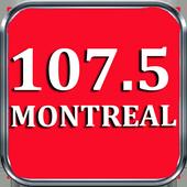 Radio Montreal 107.5 FM Radio Canada FM 107.5 FM 1.0