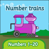Number trains: numbers 1-20 1.3.19