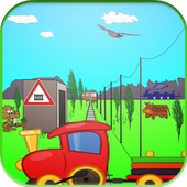 Train Game for Kids free 1