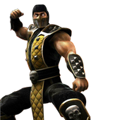 Mortal Scorpion Combat Wallpaper