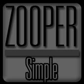 Simple - Zooper Widget Pro 3.1