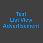 Test List View Advertisement 3.0