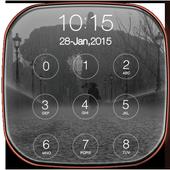Rainy City Lock Screen 1.0