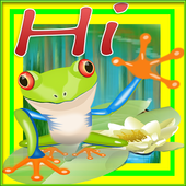 Happy Green Frog Jumping 1.4