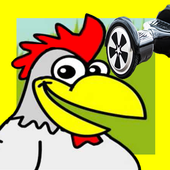 Super Chicken On A Hoverboard 1.4