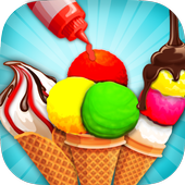 Rainbow Ice Cream Cone Cooking 1.0.1