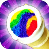 Unicorn Rainbow Ice Cream Cone Cupcake Cooking 1.0