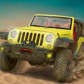 Futuristic Jeep Desert Safari Rally Racer 1.0