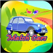 Match Cars for little kids