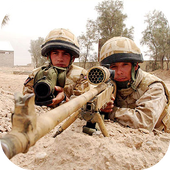 Sniper Battle WarFunny Dog AppsAction