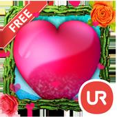 UR 3D Love Heart Live Theme 9.1.1.2