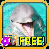3D Happy Dolphin Slots - Free 1.5