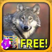 3D Wolf Jewels Slots