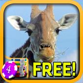 3D Thoughtful Giraffe Slots 1.5