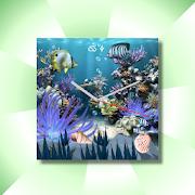 Coral Reef Aqua WatchFace Live 1.0