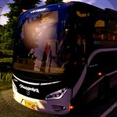 Bus simulator lintas Jawa 2