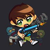 Math Battle hero Ben Shooter vs Zombies 1