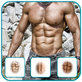 Six pack abs photo editor-Six pack photo maker 1.0