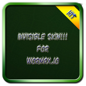 Invisible skin for wormax.io 1.0