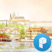 Hello Prague Launcher Theme 1.0