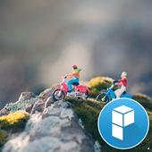 Miniature People Bike Riding 1.0