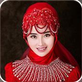 Bridal Hijab Fashion SuitSky Studio AppPhotography