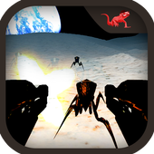 Alien Insect Shooter on Moon 1.0