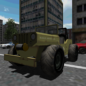 Military Jeep Driving In SnowSlick Lizard GamesAction