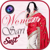 women saree suit photo montage 1.9