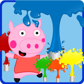 Peppie Pig Coloring Books 1.3