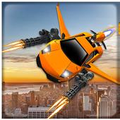 Flying Car Shooting Battle Adventure War Simulator 1.8