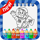 Astronaut Coloring Game 1.0