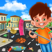 My Home City Cleaning Games: Waste Management Game 1.0.1